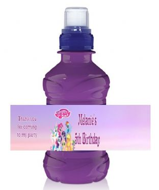 My Little Pony Bottle Label Wrapper.
